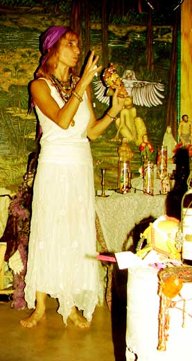 Salie Ann Glassman New Orleans Voodoo Priestess.